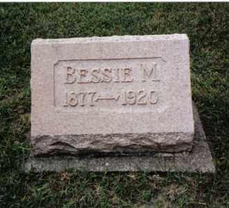HARTER, BESSIE M. - Darke County, Ohio | BESSIE M. HARTER - Ohio Gravestone Photos
