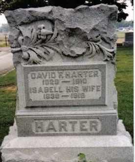 HARTER, ISABELL - Darke County, Ohio   ISABELL HARTER - Ohio Gravestone Photos