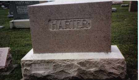 HARTER, D. DWIGHT - Darke County, Ohio | D. DWIGHT HARTER - Ohio Gravestone Photos