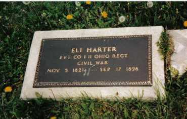 HARTER, ELI - Darke County, Ohio | ELI HARTER - Ohio Gravestone Photos