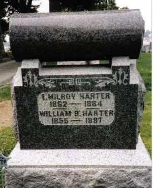 HARTER, E. MILROY - Darke County, Ohio | E. MILROY HARTER - Ohio Gravestone Photos