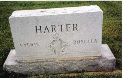 HARTER, ROSELLA - Darke County, Ohio   ROSELLA HARTER - Ohio Gravestone Photos