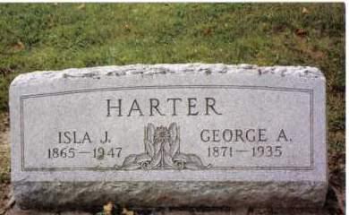 HARTER, ISLA J. - Darke County, Ohio | ISLA J. HARTER - Ohio Gravestone Photos
