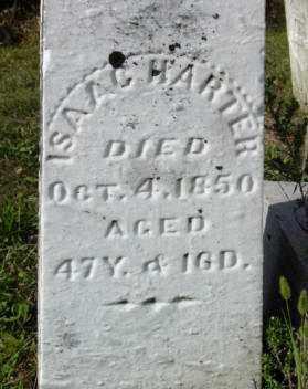 HARTER, ISAAC - Darke County, Ohio   ISAAC HARTER - Ohio Gravestone Photos