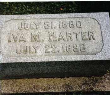 HARTER, IVA M. - Darke County, Ohio | IVA M. HARTER - Ohio Gravestone Photos