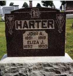 HARTER, ELIZA J. - Darke County, Ohio   ELIZA J. HARTER - Ohio Gravestone Photos