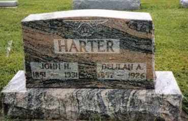 HARTER, DELILAH A. - Darke County, Ohio | DELILAH A. HARTER - Ohio Gravestone Photos