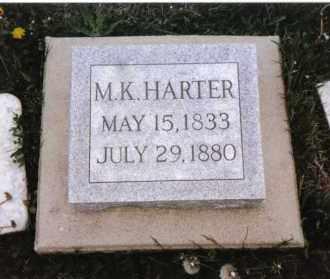 HARTER, M. K. - Darke County, Ohio | M. K. HARTER - Ohio Gravestone Photos