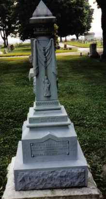 HARTER, PERMELIA - Darke County, Ohio | PERMELIA HARTER - Ohio Gravestone Photos
