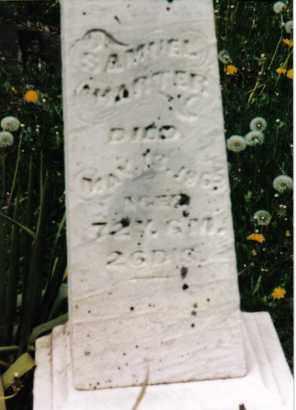 HARTER, SAMUEL - Darke County, Ohio   SAMUEL HARTER - Ohio Gravestone Photos