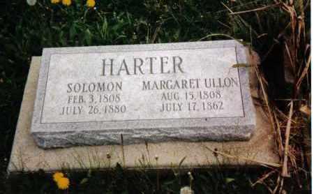 HARTER, SOLOMON - Darke County, Ohio | SOLOMON HARTER - Ohio Gravestone Photos