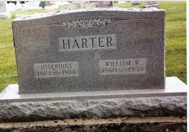 HARTER, WILLIAM W. - Darke County, Ohio   WILLIAM W. HARTER - Ohio Gravestone Photos
