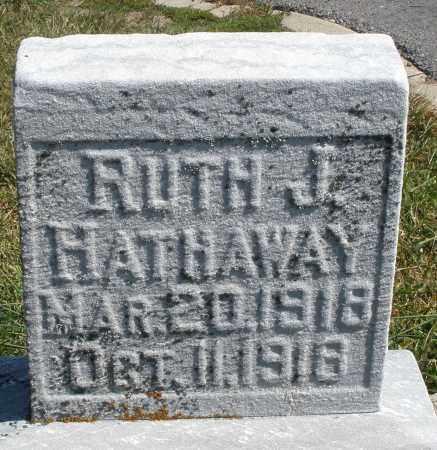 HATHAWAY, RUTH J. - Darke County, Ohio | RUTH J. HATHAWAY - Ohio Gravestone Photos