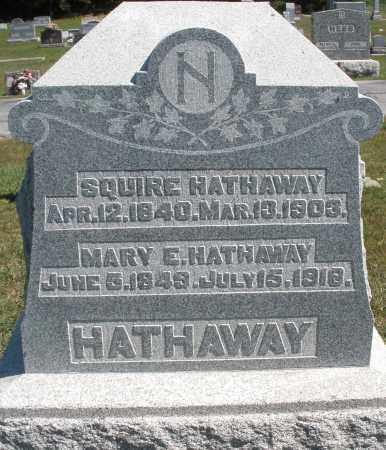 HATHAWAY, SQUIRE - Darke County, Ohio | SQUIRE HATHAWAY - Ohio Gravestone Photos