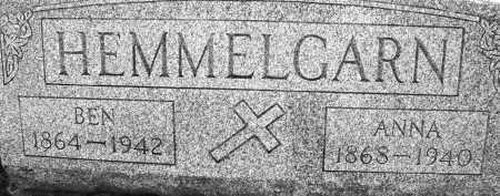 HEMMELGARN, BEN - Darke County, Ohio   BEN HEMMELGARN - Ohio Gravestone Photos