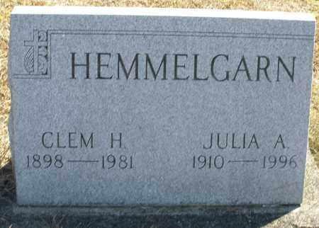 HEMMELGARN, CLEM H. - Darke County, Ohio | CLEM H. HEMMELGARN - Ohio Gravestone Photos
