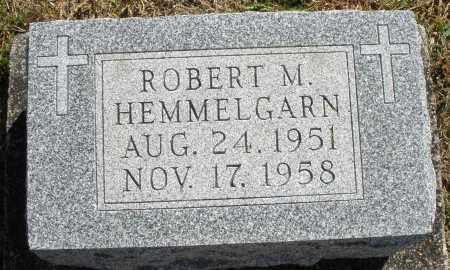 HEMMELGARN, ROBERT M. - Darke County, Ohio | ROBERT M. HEMMELGARN - Ohio Gravestone Photos