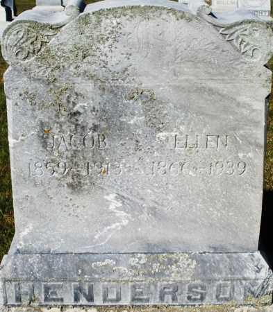 HENDERSON, ELLEN - Darke County, Ohio   ELLEN HENDERSON - Ohio Gravestone Photos