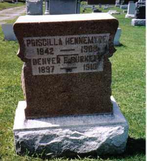 HENNEMYRE, PRISCILLA - Darke County, Ohio   PRISCILLA HENNEMYRE - Ohio Gravestone Photos