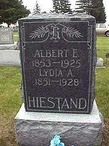 HIESTAND, ALBERT E. - Darke County, Ohio | ALBERT E. HIESTAND - Ohio Gravestone Photos