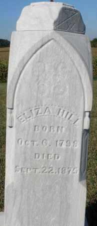 HILL, ELIZABETH - Darke County, Ohio   ELIZABETH HILL - Ohio Gravestone Photos
