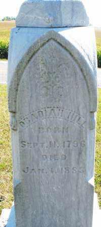 HILL, OBADIAH - Darke County, Ohio | OBADIAH HILL - Ohio Gravestone Photos
