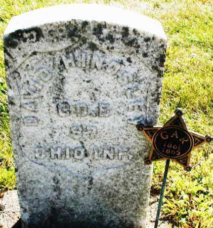 HINDSLEY, DAVID - Darke County, Ohio | DAVID HINDSLEY - Ohio Gravestone Photos