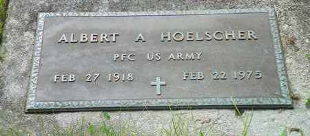 HOELSCHER, ALBERT A. - Darke County, Ohio | ALBERT A. HOELSCHER - Ohio Gravestone Photos
