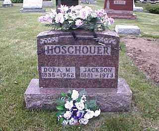 HOSCHOUER, ANDREW JACKSON - Darke County, Ohio | ANDREW JACKSON HOSCHOUER - Ohio Gravestone Photos