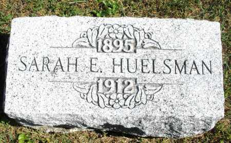 HUELSMAN, SARAH E. - Darke County, Ohio   SARAH E. HUELSMAN - Ohio Gravestone Photos