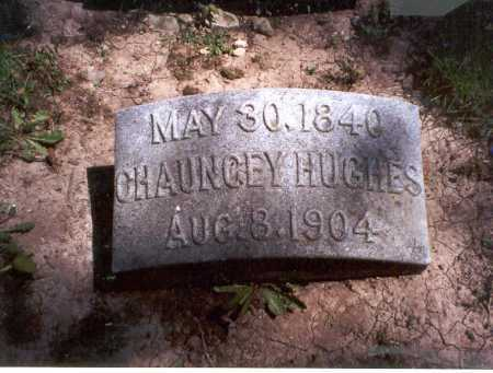 HUGHES, CHAUNCEY - Darke County, Ohio | CHAUNCEY HUGHES - Ohio Gravestone Photos
