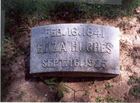 HUGHES, ELIZA - Darke County, Ohio | ELIZA HUGHES - Ohio Gravestone Photos