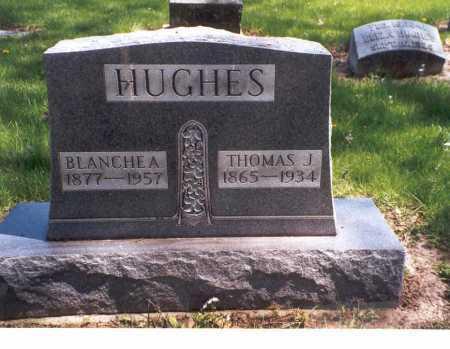 HUGHES, THOMAS J. - Darke County, Ohio | THOMAS J. HUGHES - Ohio Gravestone Photos