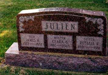 JULIEN, RUSSELL RAY - Darke County, Ohio | RUSSELL RAY JULIEN - Ohio Gravestone Photos