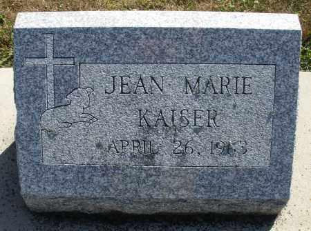 KAISER, JEAN MARIE - Darke County, Ohio   JEAN MARIE KAISER - Ohio Gravestone Photos