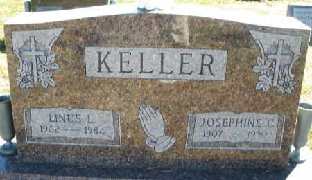 KELLER, LINUS L. - Darke County, Ohio | LINUS L. KELLER - Ohio Gravestone Photos
