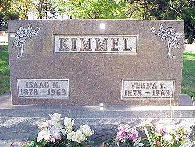THOMPSON KIMMEL, VERNA - Darke County, Ohio | VERNA THOMPSON KIMMEL - Ohio Gravestone Photos