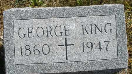 KING, GEORGE - Darke County, Ohio | GEORGE KING - Ohio Gravestone Photos