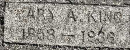 KING, MARY A. - Darke County, Ohio | MARY A. KING - Ohio Gravestone Photos