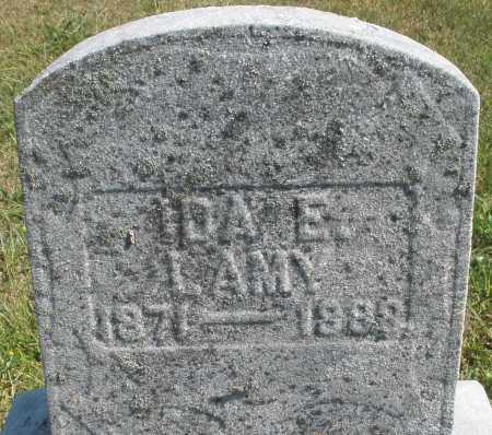 LAMY, IDA E. - Darke County, Ohio | IDA E. LAMY - Ohio Gravestone Photos