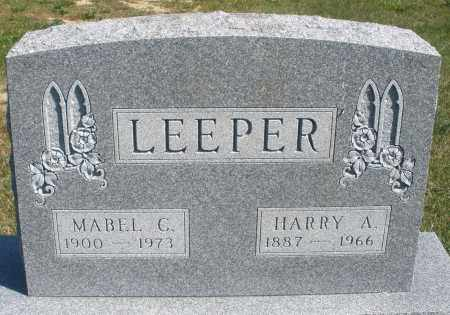LEEPER, HARRY A. - Darke County, Ohio | HARRY A. LEEPER - Ohio Gravestone Photos