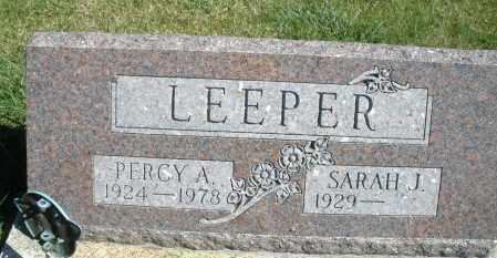 LEEPER, PERCY A. - Darke County, Ohio | PERCY A. LEEPER - Ohio Gravestone Photos