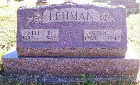 LEHMAN, LAWRENCE L. - Darke County, Ohio | LAWRENCE L. LEHMAN - Ohio Gravestone Photos