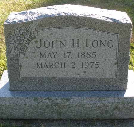 LONG, JOHN H. - Darke County, Ohio | JOHN H. LONG - Ohio Gravestone Photos