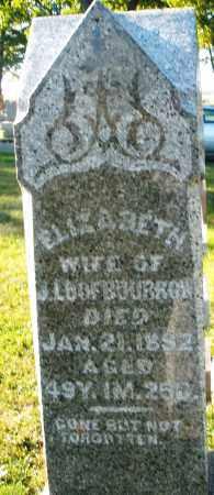 LOOFBOURROW, ELIZABETH - Darke County, Ohio | ELIZABETH LOOFBOURROW - Ohio Gravestone Photos
