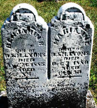LYONS, MARIANNE - Darke County, Ohio | MARIANNE LYONS - Ohio Gravestone Photos