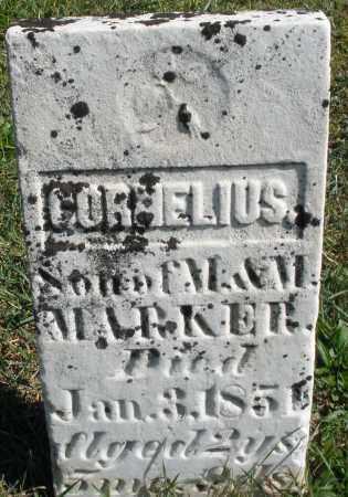 MARKER, CORNELIUS - Darke County, Ohio | CORNELIUS MARKER - Ohio Gravestone Photos