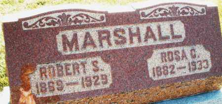 MARSHALL, ROBERT S. - Darke County, Ohio | ROBERT S. MARSHALL - Ohio Gravestone Photos