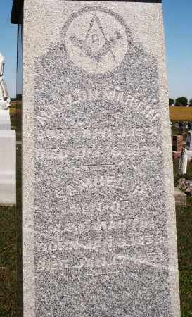MARTIN, MAHLON - Darke County, Ohio | MAHLON MARTIN - Ohio Gravestone Photos