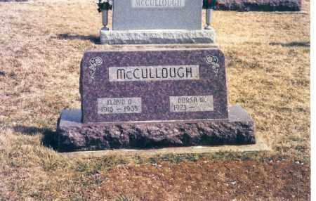 MCCLULLOUGH, FLOYD D. - Darke County, Ohio | FLOYD D. MCCLULLOUGH - Ohio Gravestone Photos